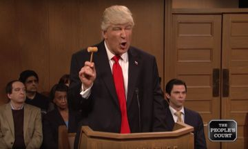 Alec Baldwin's Donald Trump Takes His Grievances To 'The People's Court' On 'SNL' | The Huffington Post