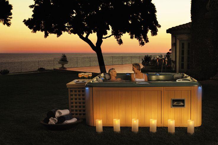 Romantic evenings with Sundance Spas