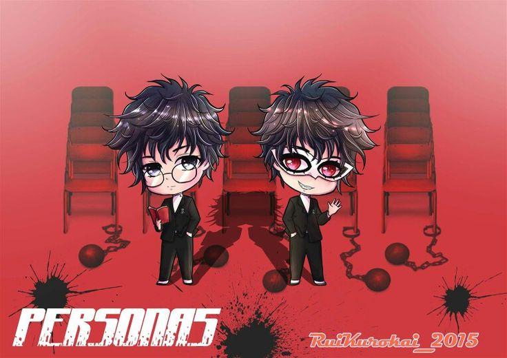 my fanart of Chair-kun.. :) #Persona5