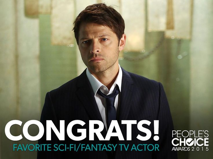 Congratulations to Misha Collins on his 2015 #PeoplesChoice Award!  Thank you for your continued support, #SPNFamily! #Supernatural