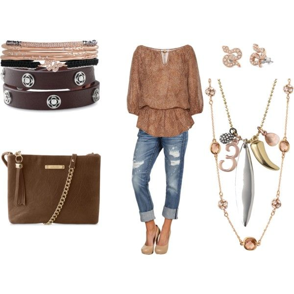 Rose Gold and Serpent, created by bucks5 on Polyvore
