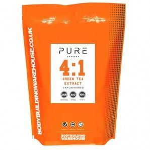 Pure Green Tea extract is an extremely effective anti-oxidant and natural fat lo