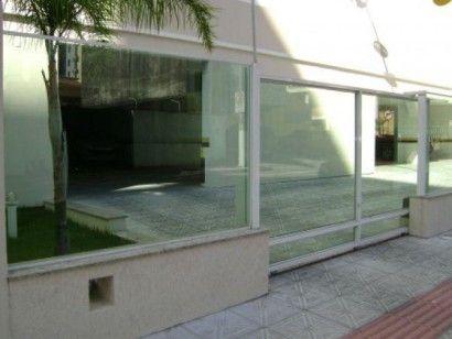 portao de vidro para garagem residencial