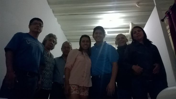 Algunos integrantes de la Junta Directiva en Fundación Getsemaní.