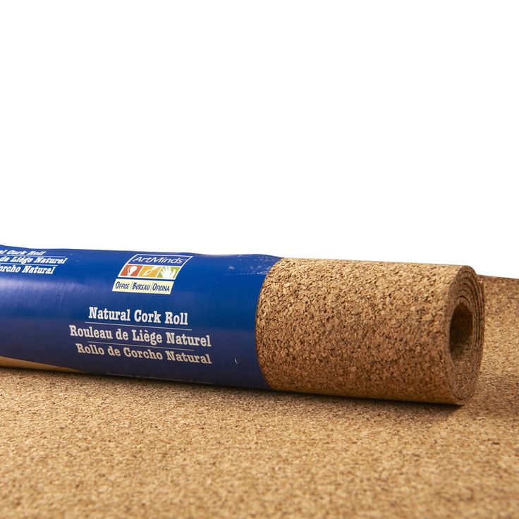 Made from environmentally friendly natural cork, this cork roll is self-healing, water resistant, and non-skid, perfect for crafts, hobbies and more.