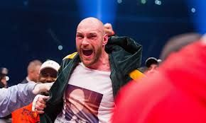 Trending News : Tyson Fury serenades his wife in the ring after be...