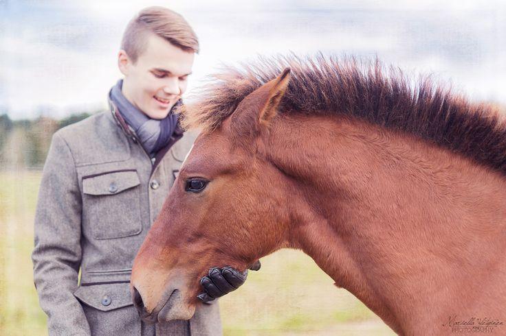 A horse and a prince   Mariella Yletyinen Photography