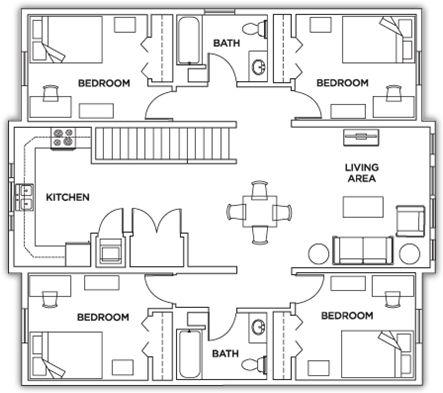 Student Housing Floor Plans - Park Point Rochester