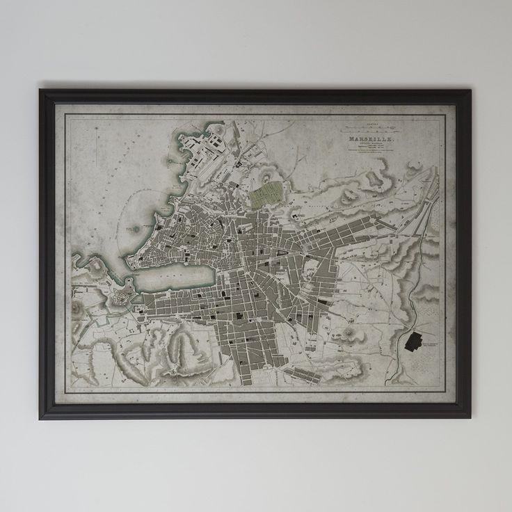 mapa de marsella para imprimir