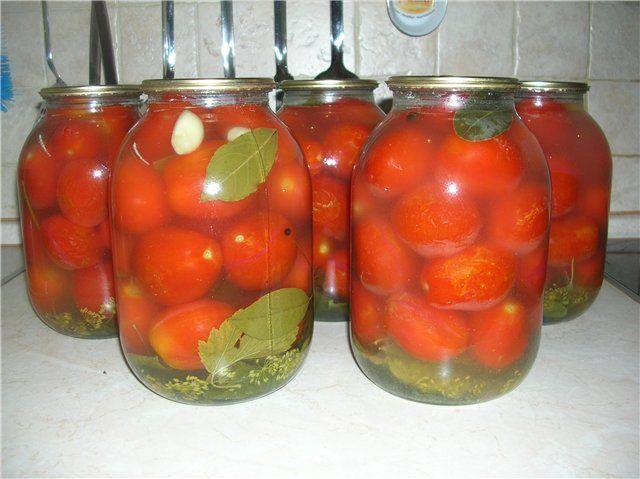 Настоящие соленые помидоры(как из бочки) в банках : Помидоры