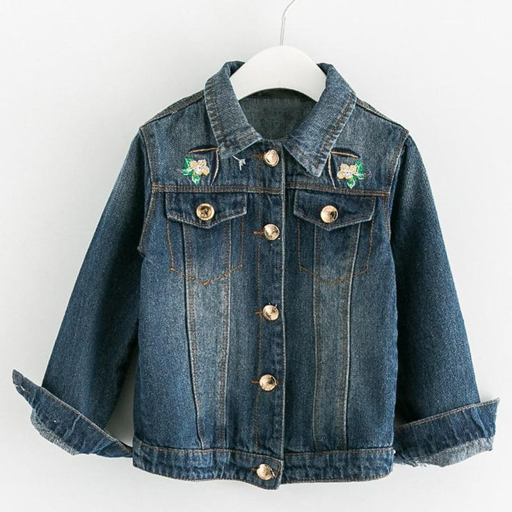 Embroidery Sequins Jean Jackets