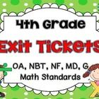 This+set+combines+my+best+selling+fourth+grade+exit+tickets+for+all+the+common+core+math+standards.+This+set+covers:  +-OA:+1-4 +-NBT:1-6 +-NF:1-7 ...