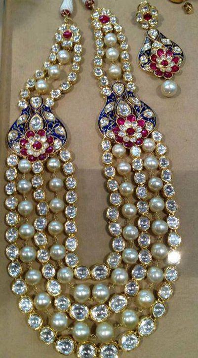 Kundan & Pearls