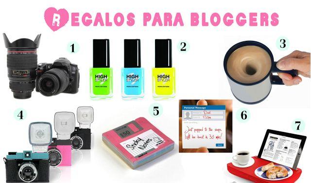 regalos molones para blogger o bloggeras