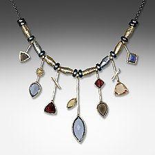 Gold & Stone Necklace by Suzanne Q Evon