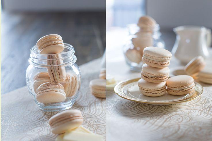 vanilla macarons 3