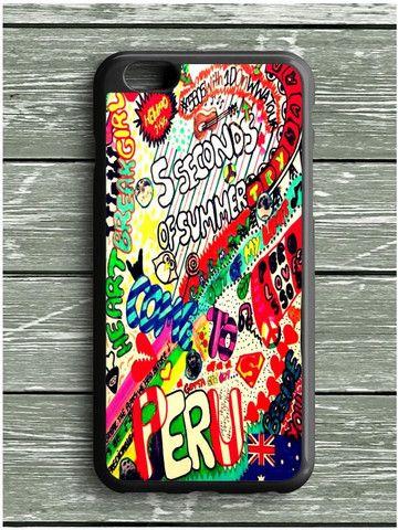 5 Sos Art Color iPhone 6 Plus Case