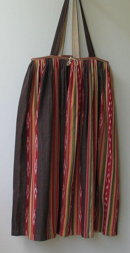 Parkano-Kihniön puvun hame. Skirt of Parkano-Kihniö folk costume.