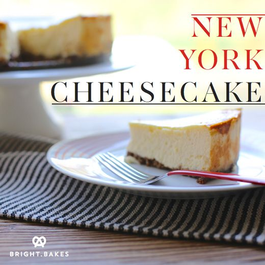 New York Cheesecake recipe | |mmm la la: cakes and pies oh my!| | Pin ...