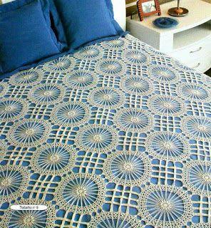 Tina's handicraft : crochet blanket