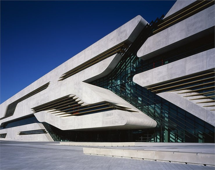 Pierres Vives, The new Goverment building for L´hérault Department, Montpellier, France, 2012 by  Zaha Hadid Architects