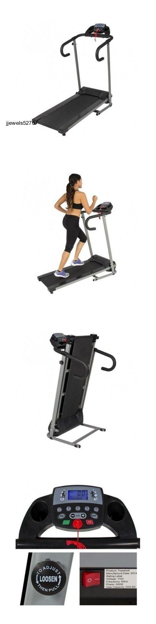 Treadmills 15280: New Folding Treadmill Cardio Equipment Running Walking Machine Exercise Home Gym -> BUY IT NOW ONLY: $236.77 on eBay!