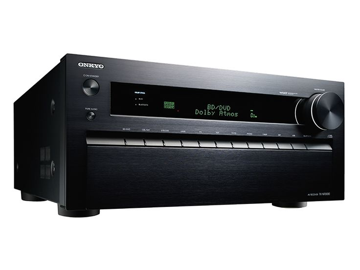 Onkyo TX-NR3030  11.2-Channel Network A/V Receiver Demand the Ultimate in 11.2-Channel Home Cinema (HDMI 2.0)  With 11.2-channels of Onkyo power and the world's most advanced A/V processing, the TX-NR3030 serves up revolutionary Dolby Atmos® surround-sound complete with liquid 4K video at 60 frames per second. Add in-ceiling speakers to augment a 5.2, 7.2, or 9.2 surround setup to unlock the full potential of this game-changing format, which creates a plane of sound over the listener's head…