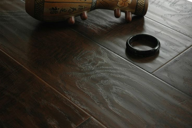 hand scraped laminate flooring | Hand-Scraped Surface Laminate Flooring