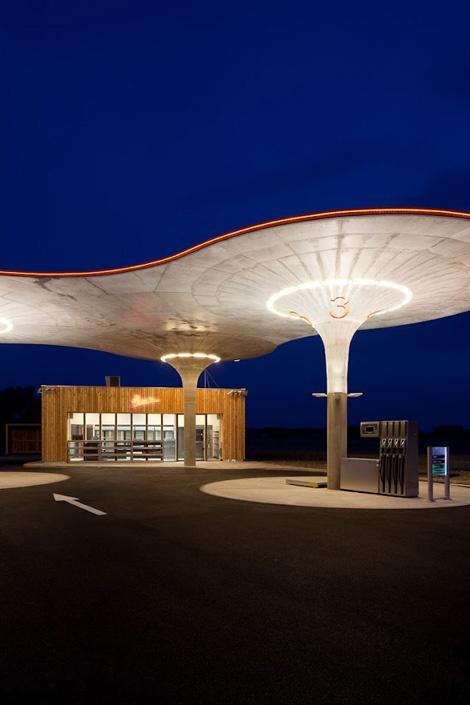 Gas Station by Atelier SAD