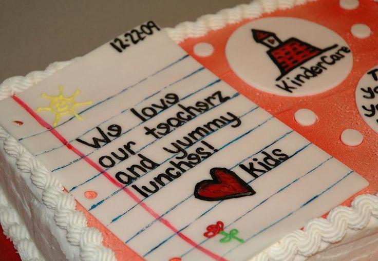 teacher cakes - Google Search