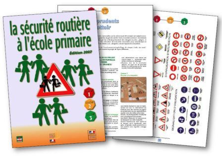 Livret pédagogique La sécurité à l'école primaire
