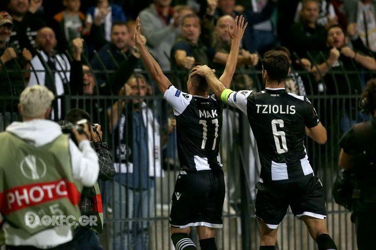 #Mak #Tziolis #celebration #Toumba #BVB #goal #UEL #PAOK