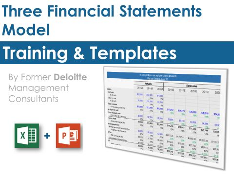 10 best DCF Model Template in Excel By ex-Deloitte Consultants - financial statement template