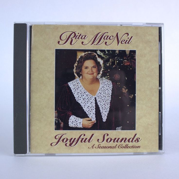 Joyful Sounds: A Seasonal Collection by Rita MacNeil - Christmas Music Audio CD #Christmas