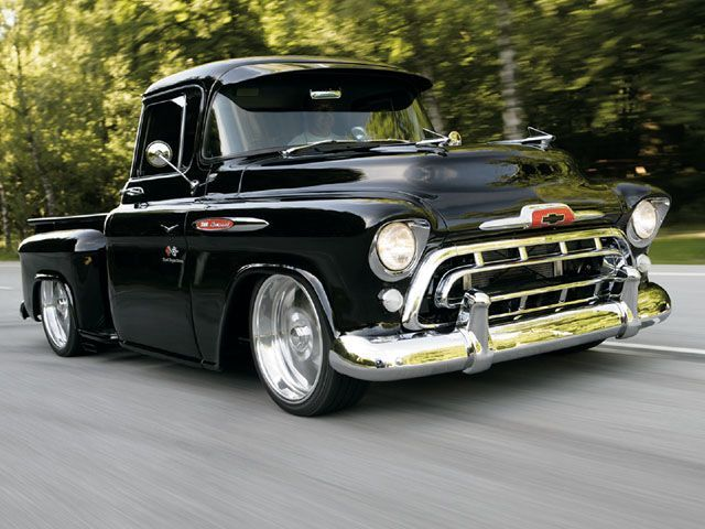 old school 57 chevy | Your Favorite Type & Year of Old/New School Pickups - Page 7 ...