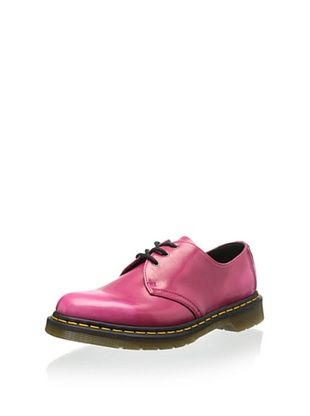 40% OFF Dr. Martens Women's Vegan 1461 Shoe (Hot Pink Cambridge Brush)