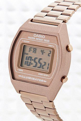 Gift idea to accessory lovers, friends, girl- or boyfriend. Casio watches offer cool design and good value for money.