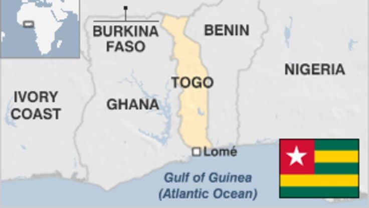 TOGO: Provides overview, key facts and events, timelines and leader profiles along with current news about Togo