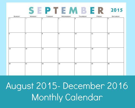 Arc Calendar Printables : Printable monthly calendar arcplanner monthlycalendar