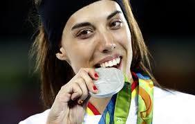 Vuelven las medallas en Río 2016 esta vez de la mano de Eva Calvo ¡FELICIDADES CAMPEONA! #Río2016 #España #spain #taekwondo #deportes