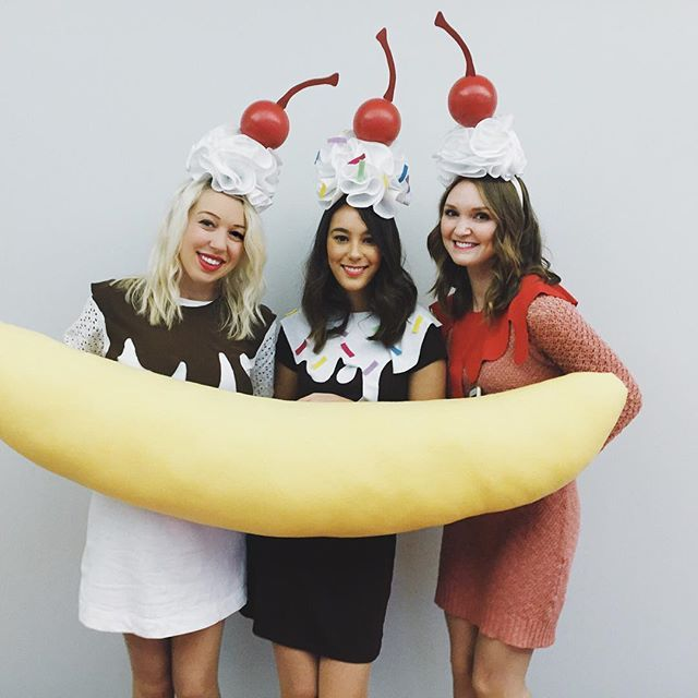 split  - Halloween Costume - Ice cream - Banana Split