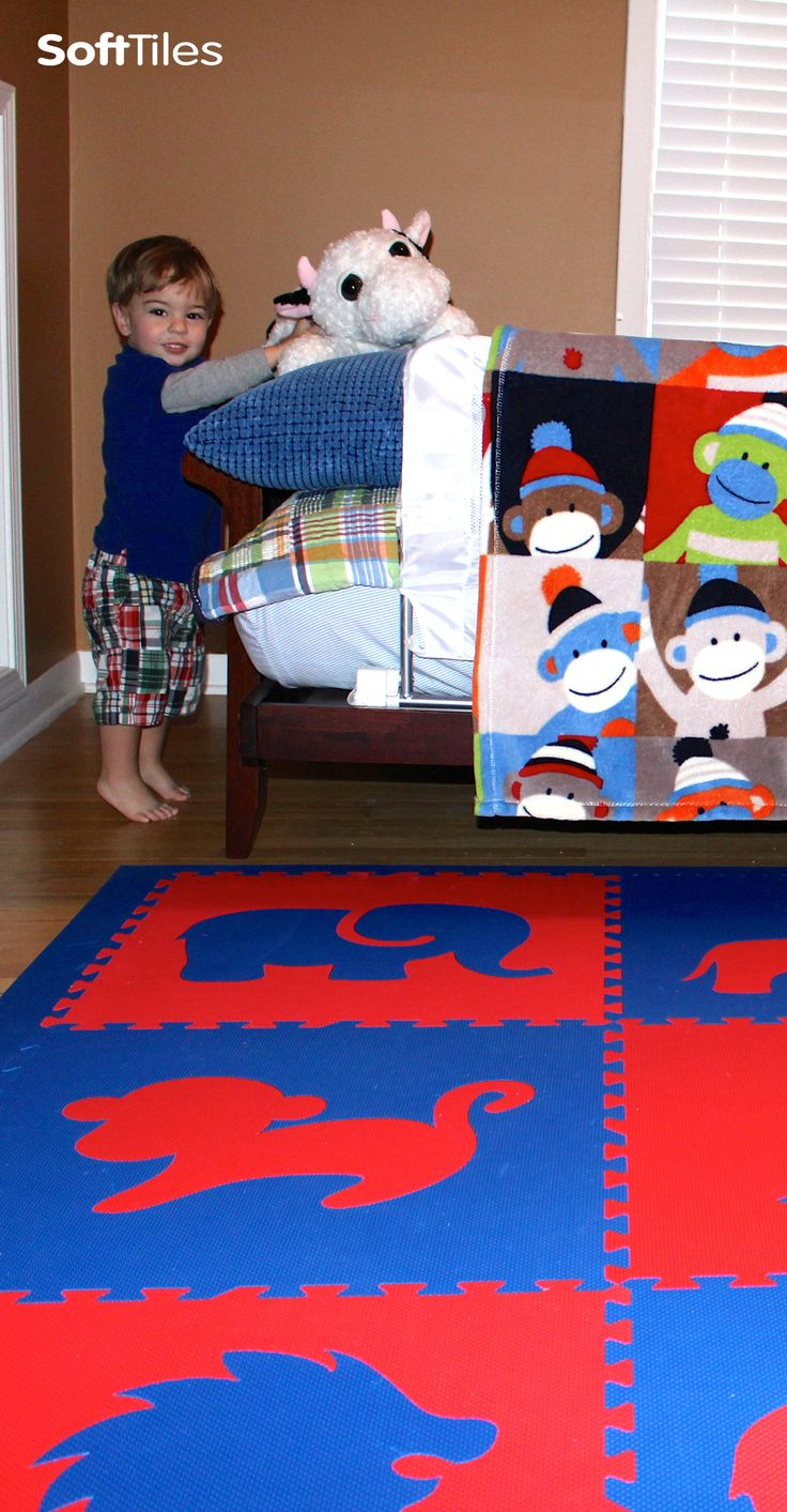 10 best softtiles foam mats kids bedroom ideas images on pinterest safari animals childrens playroom floor in red and blue d120 dailygadgetfo Choice Image
