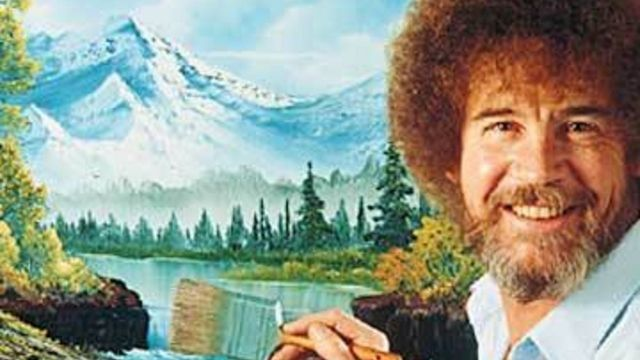 Finally, Someone Did A Statistical Analysis of Bob Ross' Paintings