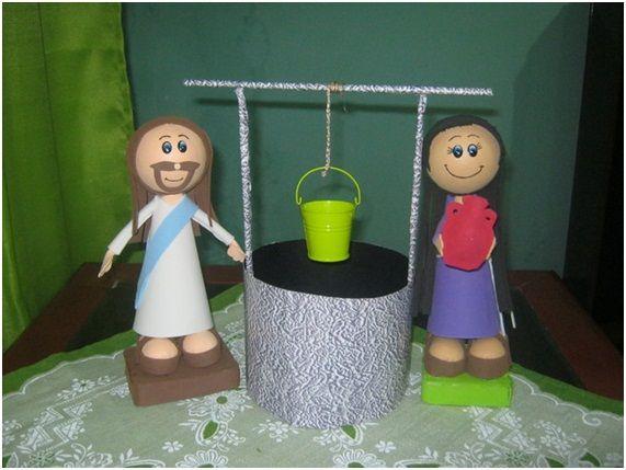Aula Pré-Primário - Jesus e a mulher samaritana 004