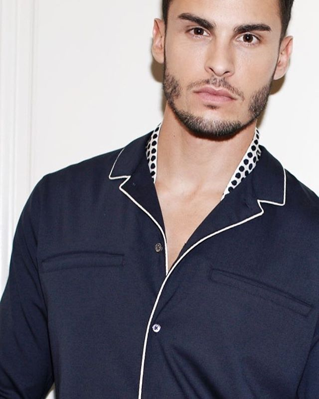 Baptiste Giabiconi for Massimo Dutti Limited Edition Collection.