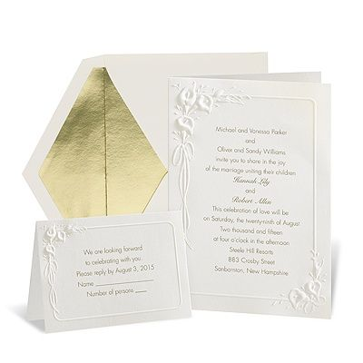 32 best calla lily inspired wedding invitations images on, Wedding invitations