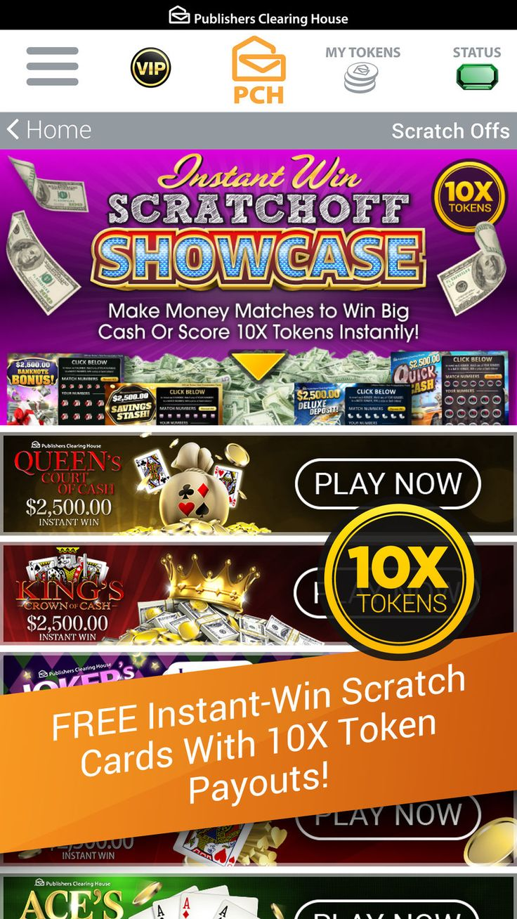 The PCH App on the App Store Publisher clearing house, Pch