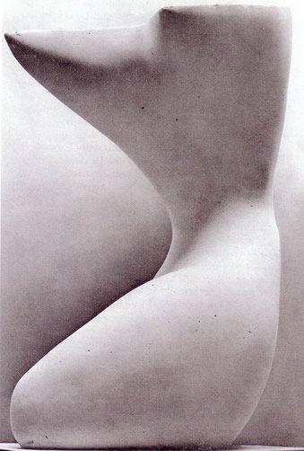 """Alberto Viani (Mantova 1906 Venezia 1989) """"Cariatide"""" 1952 (119x89 marmo di Carrara)"""