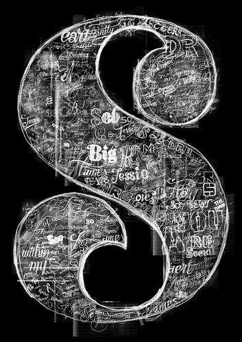 s: Fonts Typography, Chalkboards Design, Chalkboard Designs, Hand Drawn Typography, Illuminated Letters, Chalk Boards, Graphics Design, Seb Lester, Chalk Art