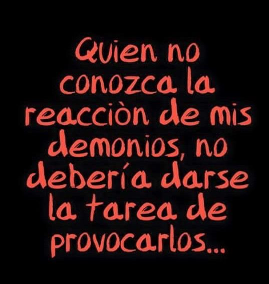 #Reacción #Demonios